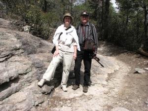 Hiking at Chiricahua National Monument