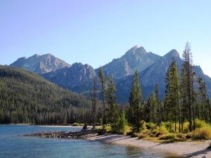 At Stanley Lake