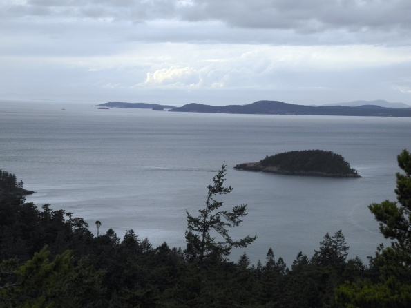 Puget Sound from Goose Rock Summit