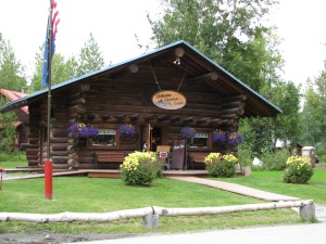 Downtown shopping in Talkeetna Alaska