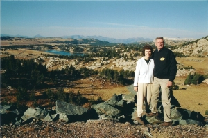 Gardner Lake along the Beartooth Highway
