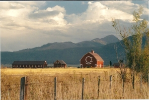 Countryside surrounding Joseph