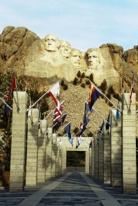 Entrance to Mt Rushmore