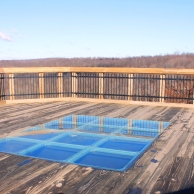 Window Panel to view bridge supports below