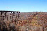 Bridge with destruction