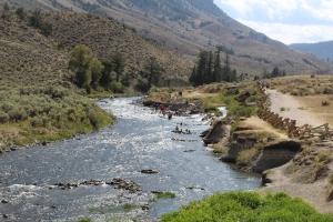 Boiling River Springs