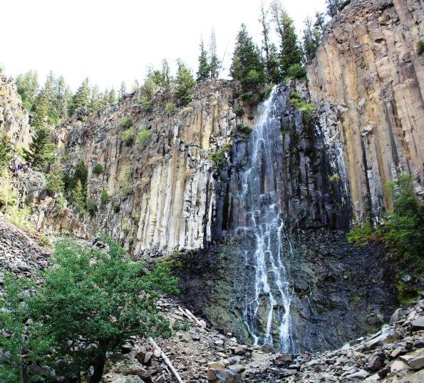 Palisades Falls just south of Bozeman